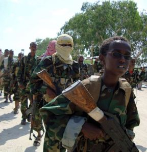 Al-Shabab makes $600,000 per month on poaching and employs child soldiers.